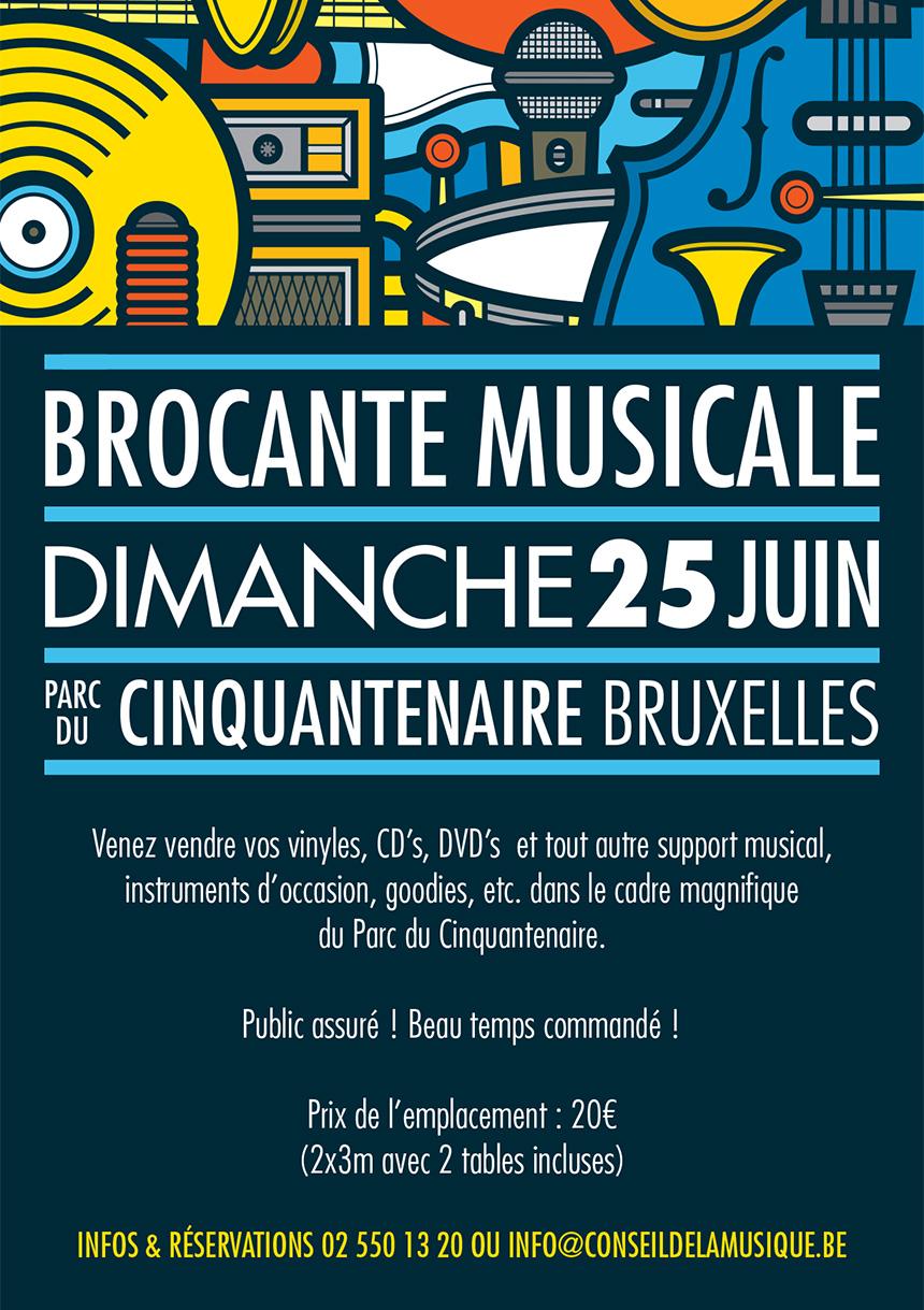 Brocante musicale de la f te de la musique nl for Brocante dans 02